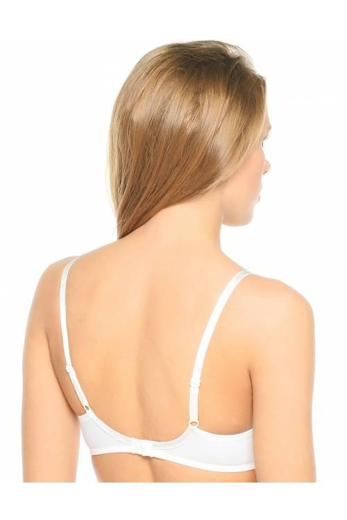 חזייה מרופדת אורכידאה עד מידה 80G -תמונה בלבן להמחשת הסגר בגב