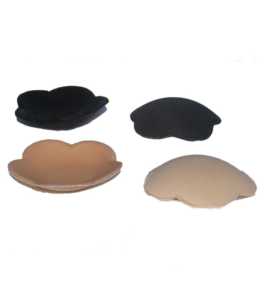 מדבקות סיליקון גדולות לפיטמות גדולות - צבע שחור