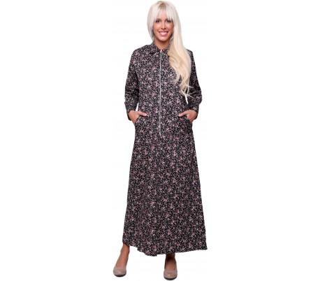 שמלת רוכסן 100% כותנה 4C560