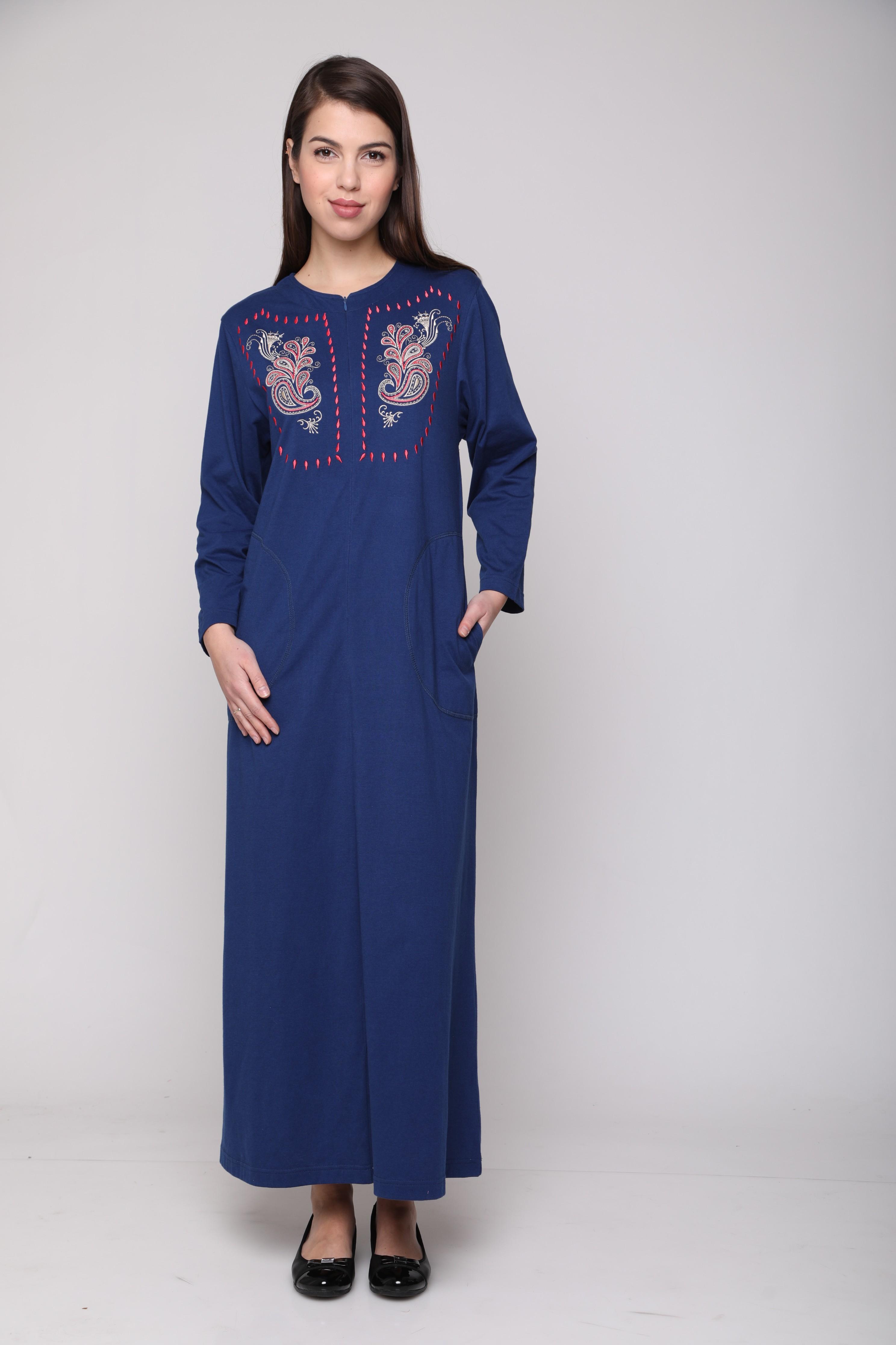 שמלת ג'ינס הדפס פרחים 1C269