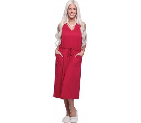 שמלת טריקו כתפיות חלקה 11A225