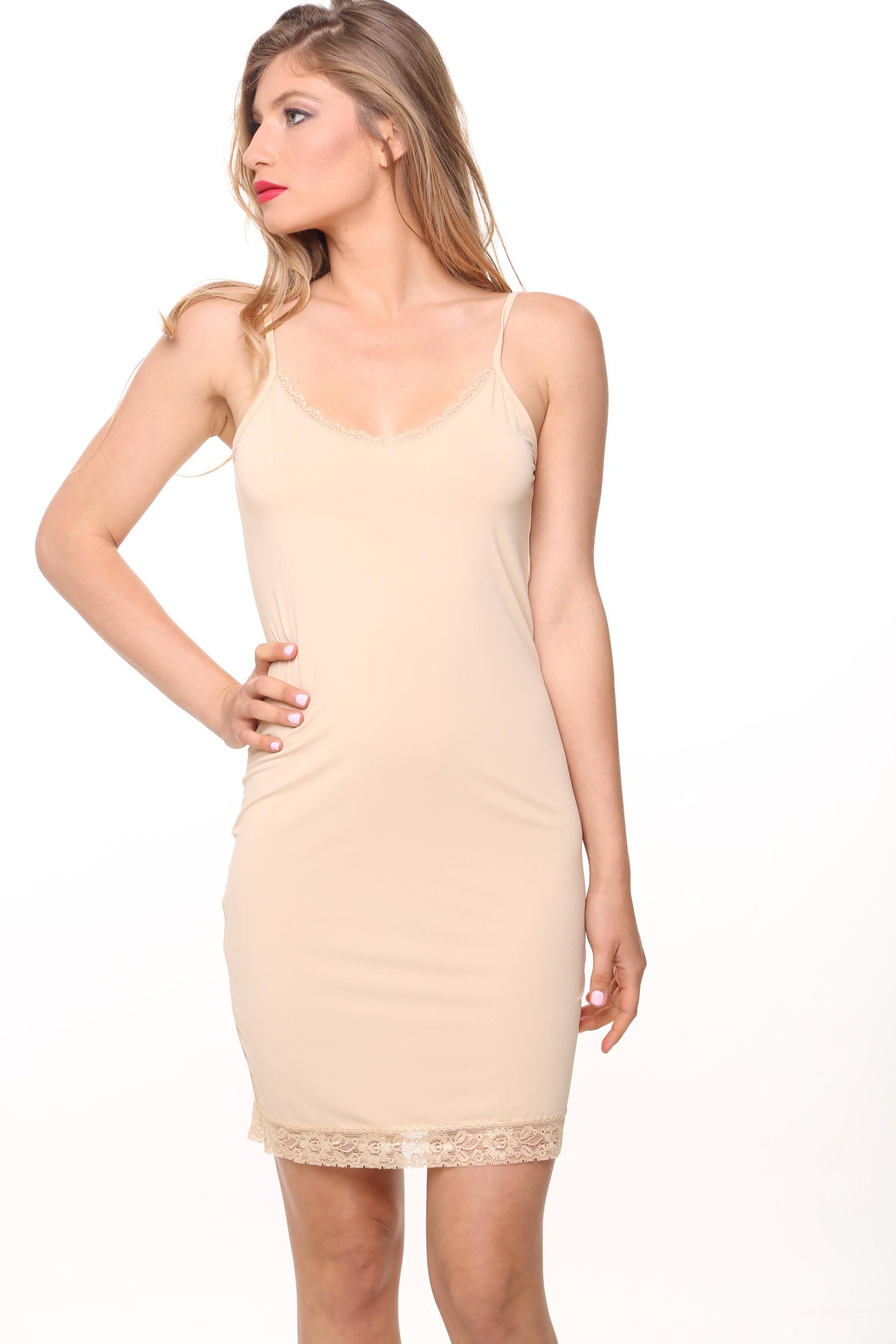 שמלת קומבניזון מחטבת עד XXL