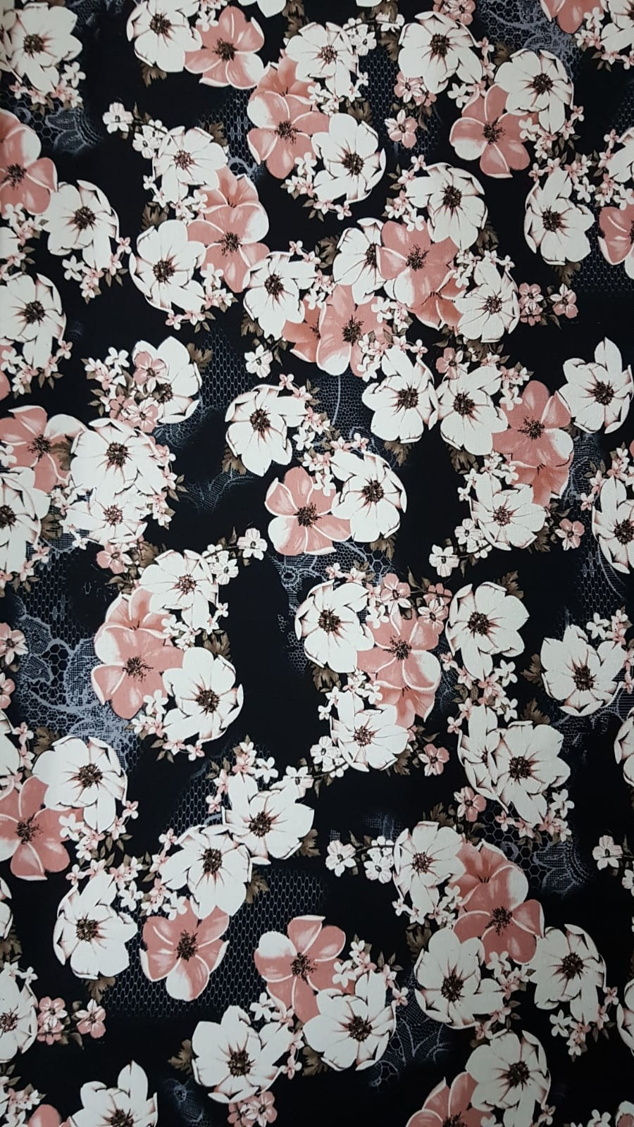 פרחים רקע שחור