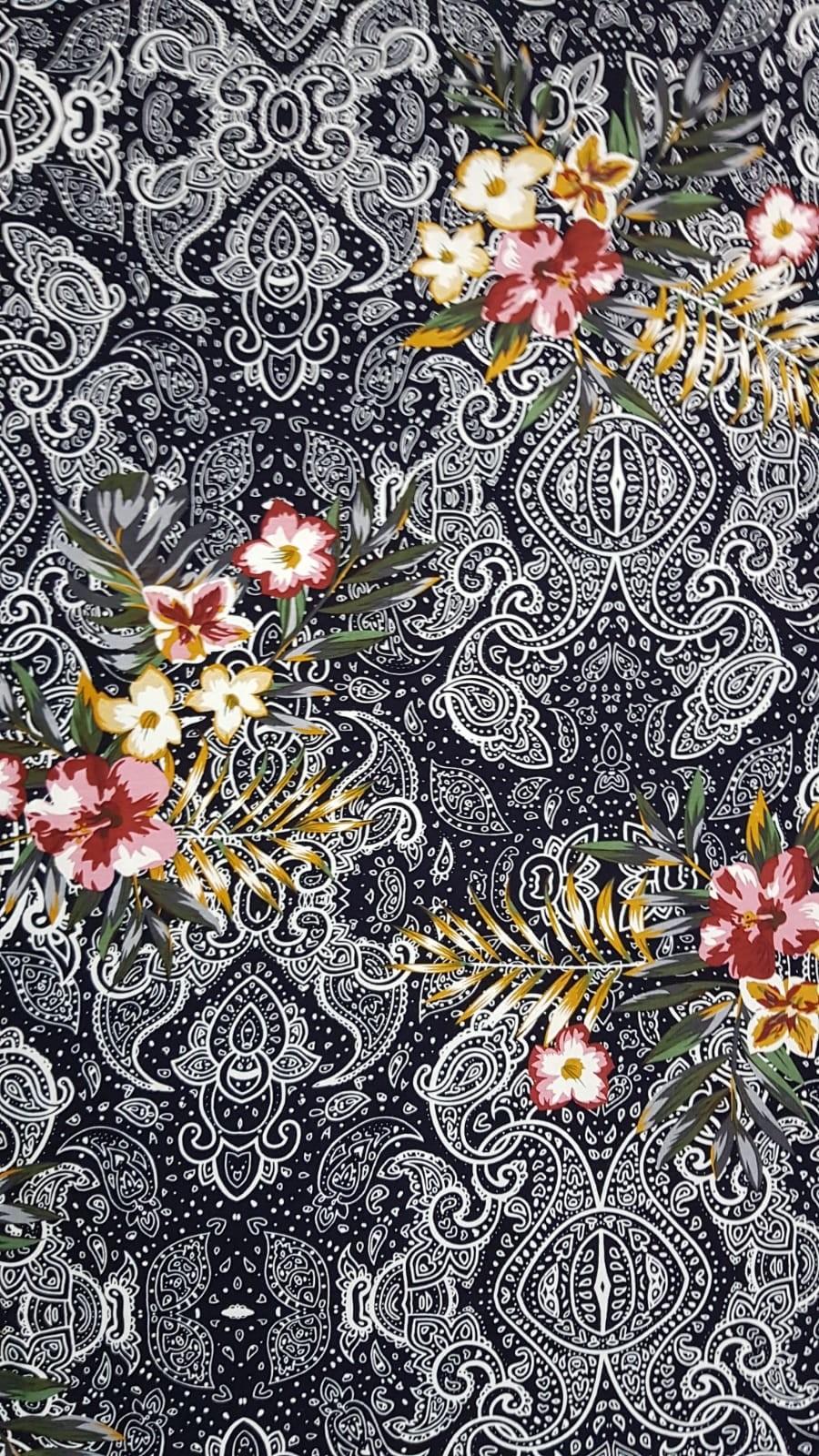 פרחים רקע אפור
